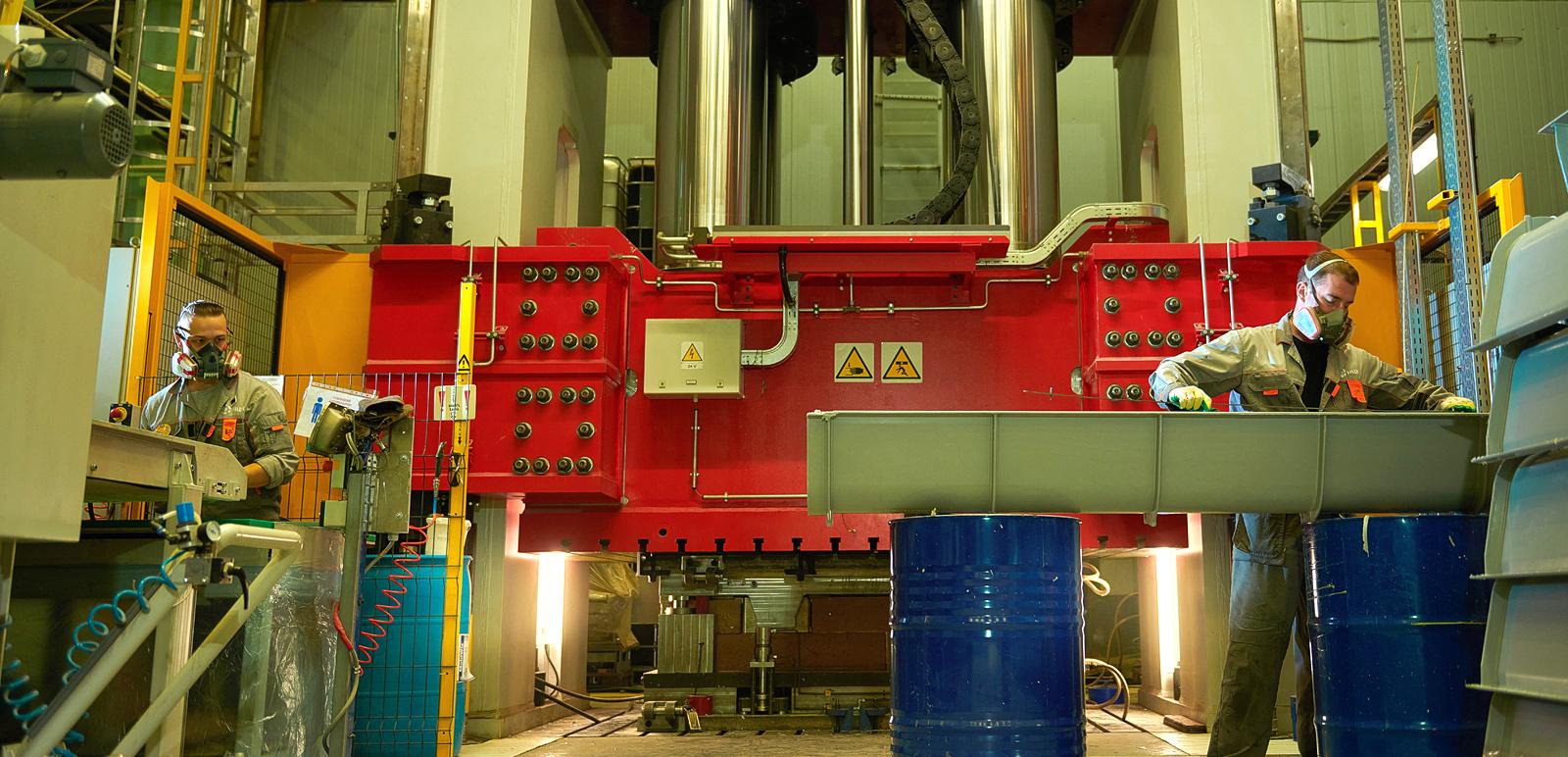 Производство «Нанотехнологического центра композитов» (НЦК)